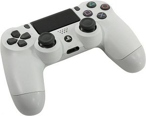 Sony PS4 Dualshock V2 (CUH-ZCT2E) (PS719894759) Джойстик, цвет белый